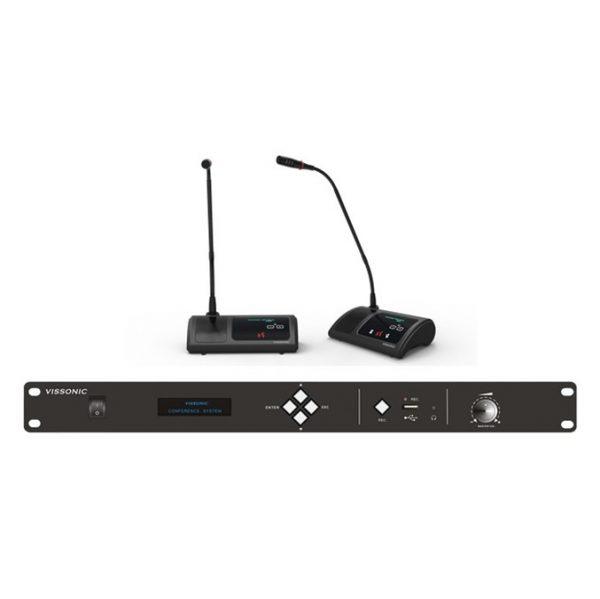 Systèmes de conférence sans fil VISSONIC DCP2000W