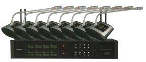Mini système conférencier 8 postes HF HTDZ HT-968