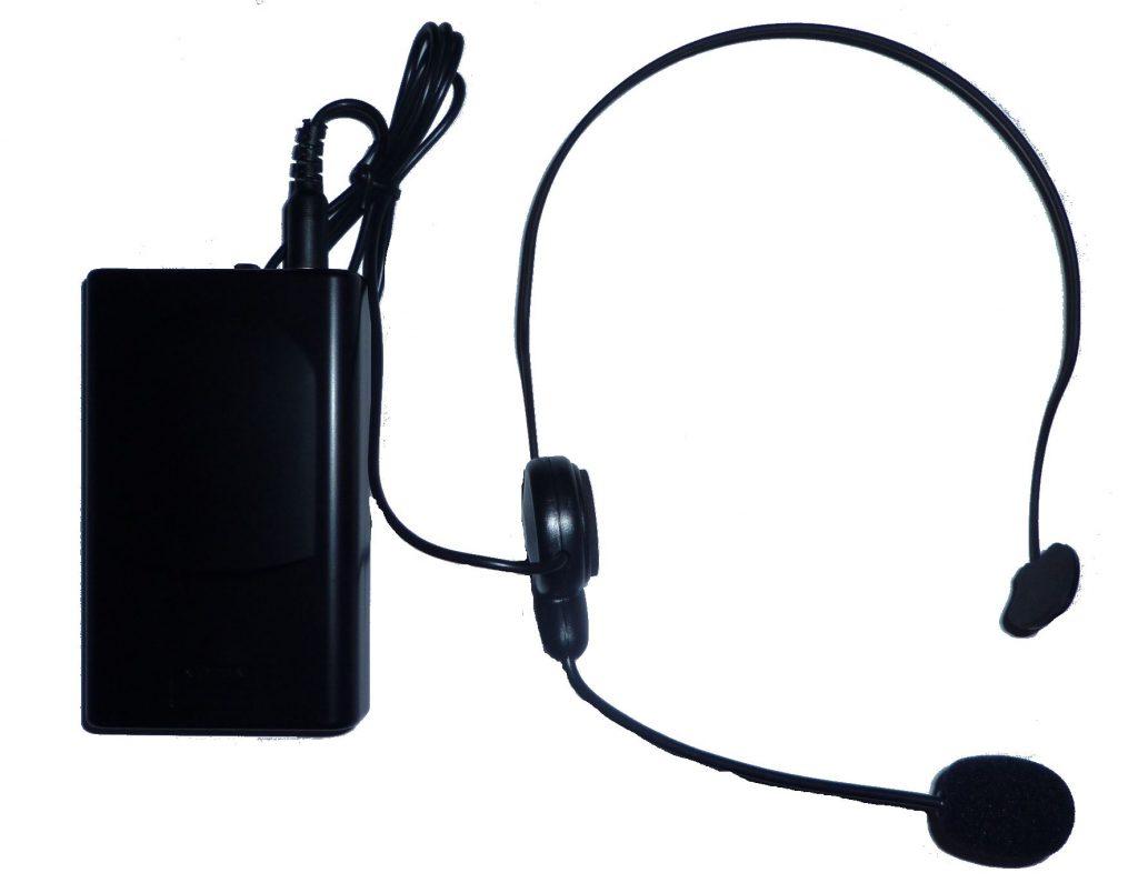 Micro serre tête + boitier ceinture HF HT-66HEAD