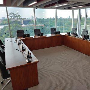 Systèmes conférences conseil d'administration